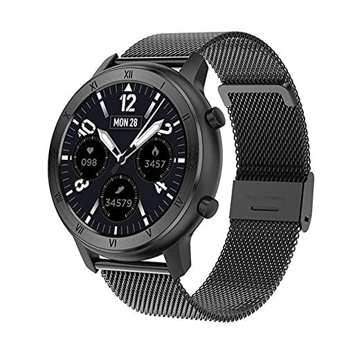 DT89 - Reloj inteligente para mujer, adecuado para pulsera de ritmo cardíaco, monitor de actividad física, pulsera y rastreador de actividad, reloj deportivo femenino