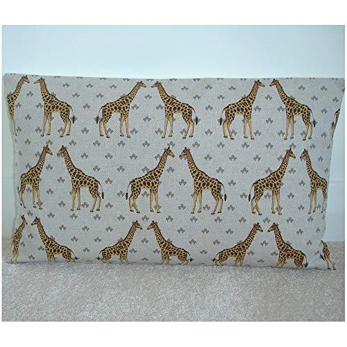 Funda de almohada unknown Giraffe 12 x 20 oblongo almohada almohada almohada almohada almohada almohada almohada almohada almohada almohada almohada almohada almohada almohada almohada almohada almohada sham beige marrón mostaza amarillo 20 x 12 pulgadas
