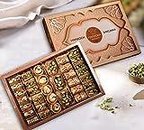 (500gr)Caja de regalo de lujo Baklava Turkish Baklawa Sampler Pistachio Surtido echa en las mejores fabricas