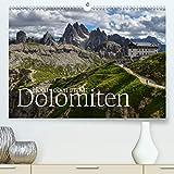 Hoch oben in den DOLOMITEN (Premium, hochwertiger DIN A2 Wandkalender 2020, Kunstdruck in Hochglanz): Die Dolomiten - einzigartig schöne Bergwelt, ... (Monatskalender, 14 Seiten ) (CALVENDO Natur) - Joachim Barig