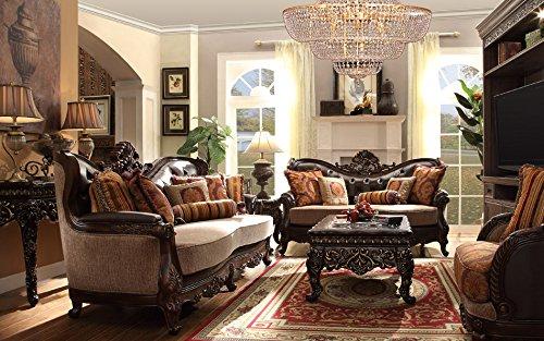 Inland Empire Furniture Savona Formal Sofa Love Seat and Chair