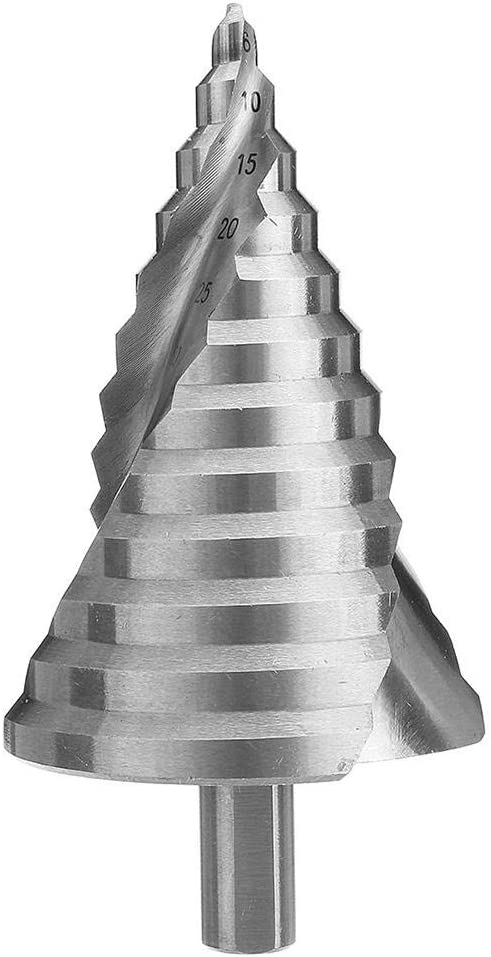 Free shipping anywhere in the nation Drill Bit 6-60mm Hss Step Spira Cone Taper SEAL limited product Hole Cutter