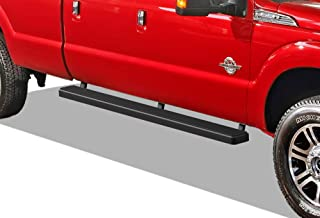 APS iBoard (Black 5 inches) 304 Stainless Steel Running Boards Nerf Bars Side Steps Step Rails Compatible with 1999-2016 Ford F250 F350 Super Duty Crew Cab