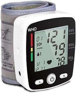 Life HS Muñeca Monitor De Presión Arterial Electrónicos, Humaine Radiodifusión Función Pantalla LCD Seguridad Y Protección Ambiental 2-Usuario con Capacidad De Memoria 99