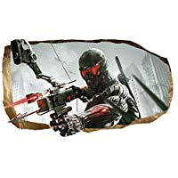 Mural Wall Art 3D - Soldier From the Future Large Poster for Teens Bedroom Games 120 x 220 cm