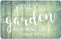 個性的なガーデンマーク満開の愛カントリーマーク屋外金属装飾壁アートカントリーガーデン満開の愛メタルルームマーク