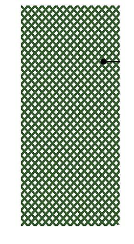 PAPILLON 8091565 Celosia PVC Fija Verde Set 5 Piezas de 2 x 1metros