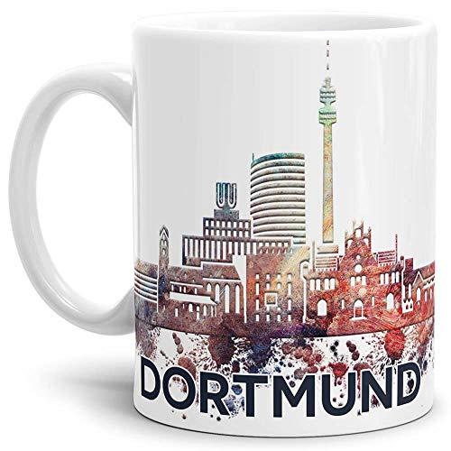 Tassendruck Dortmund-Tasse Skyline - Kaffeetasse/Mug/Cup - Qualität Made in Germany