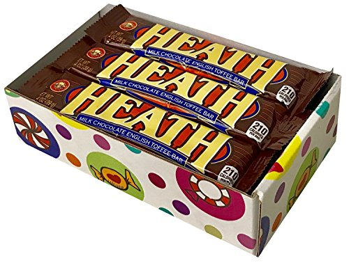 Heath Toffee Candy Bars (Pack of 12) By CandyLab