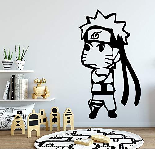 YuanMinglu wasserdichte Cartoon Charakter Kunst Aufkleber wandaufkleber Vinyl Aufkleber Dekoration tapete Schlafzimmer Dekoration 54x93 cm