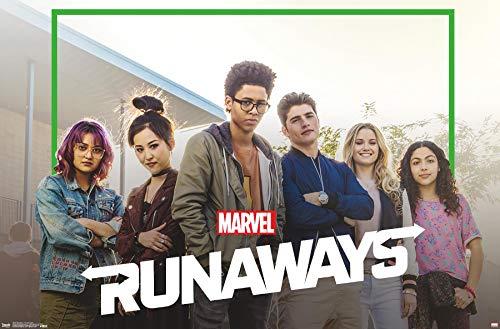 "Trends International Marvel Comics Runaways-TV One Sheet Wall Poster, 22.375"" x 34"", Unframed Version"