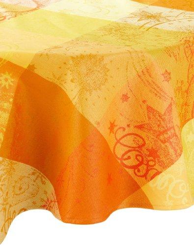 Garnier-Thiebaut 8535 Beschichtete Tischdecke Mille Couleurs Soleil rund D 175