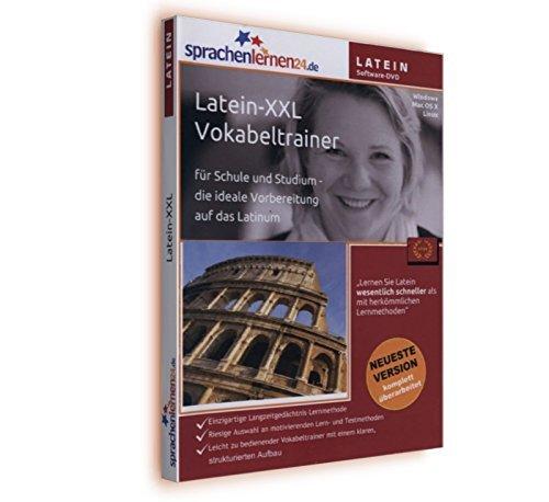 Preisvergleich Produktbild LATEIN-XXL-Vokabeltrainer + MP3 - Lerndaten + Mobile Version