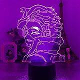 Lampka nocna dla dzieci, My Academia Hawks 3D LED Anime lampa Boku no Hero Academia wizualna lampa stołowa dla chłopców prezent zdalne sterowanie