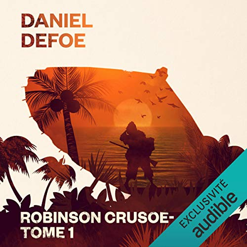 Robinson Crusoé audiobook cover art