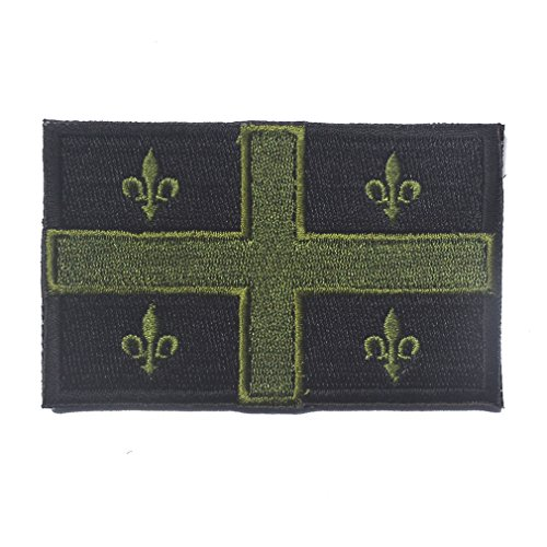 Kanada Flagge Patch Bestickt Military Tactical Flagge Patch Quebec G und B