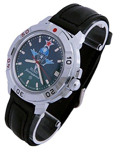 Vostok KOMANDIRSKIE Reloj de Comandante Ruso Militar Paracaidista Militar VDV 2414/431021