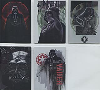 Star Wars Rogue One Mission Briefing Darth Vader Continuity 5 Card Chase Set