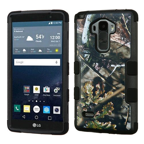MyBat TUFF Hybrid Cover for LG G Stylo/G Vista 2 - English Oak I-Hunting Camouflage Collection/Black