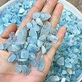 Ltong Aguamarina Natural Zafiro mar Piedras caídas Cristales y minerales AcuarioCristales de Cuarzo Piedras Naturales