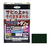 高耐久アクリルトタン用 12kg ディープグリーン アサヒペン 【商品CD】AP0569