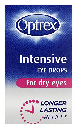 Optrex Intensive Eye Drops for Dry Eyes, 10ml