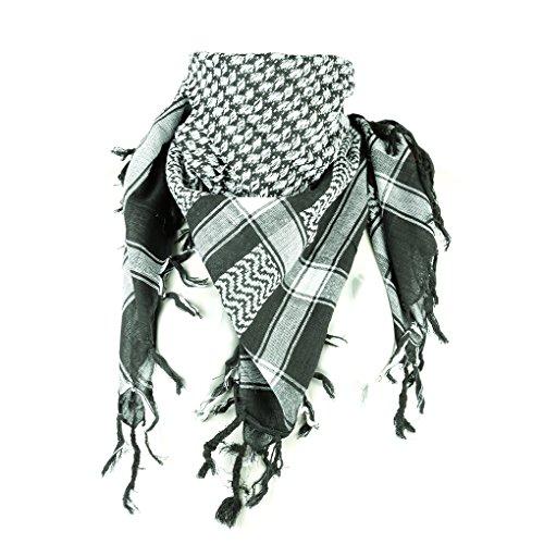 ROCK Pali–Toalla bicolor Klassisch PLO–100x 100cm Pali los Palestinos Arafat Toalla 100% algodón–En Todos Los Colores