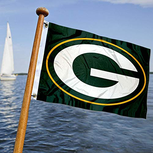 Wincraft Green Bay Packers Boot- und Golfwagen-Flagge
