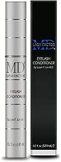 MD Lash Factor Eyelash Growth Serum| Enhances Your Natural Lashes For A Fuller, Longer & Denser Look | Eye Lash Enhancer for Women | 0.2 Fl Oz - 6 Month Supply