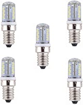 Led Bulbs, 12V Low Voltage E14 Base 57 SMD 3014 LED E12/E14 Light Bulb Lamp 4 Watt 260-280LM AC/DC 12V Equivalent to 30W H...
