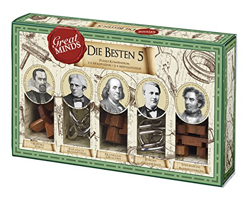 Moses. 92064 - Professor Puzzle Great Minds Die besten Fünf