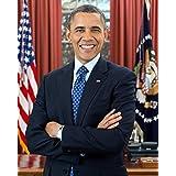 """バラック オバマ プリント - ヴィンテージ 歴史的 2012 アートワークM100025 8"""" x 10"""" 100025-1000-1012"""