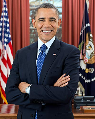 Barack Obama Photograph - Historical Artwork from 2012 - US President Portrait - (8