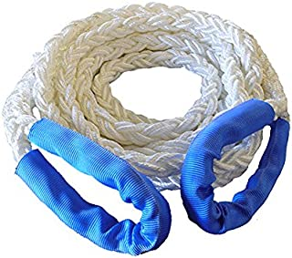 YAOJII 10mm*30m Winch Line Towing Rope Synthetic Fiber Rope Plasma Rope For Offroad