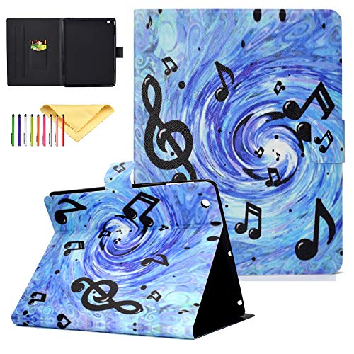Uliking Folio Smart Case for iPad 2 3 4 (Old Model) - Slim Fit Smart Stand Protective Cover Auto Sleep/Wake for iPad 2, iPad 3rd gen & iPad 4th Generation with Retina Display, Music