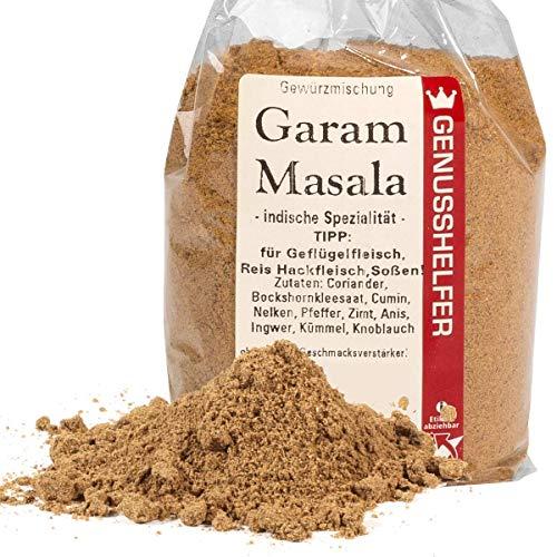Garam Masala Gewürzmischung 100 Gramm gemahlen, indische Spezialität, ohne Zusatzstoffe & ohne Geschmacksverstärker - Bremer Gewürzhandel