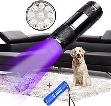 Black+Blue XANES U01 9X LED Violet Light Multifunction UV LED Flashlight Fluorescence Detection Pen