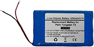 3.7V/1200mAH Replacement Battery for PDA Palm Tungsten TX