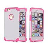 Teléfono Móvil para iPhone 66S, Vogue tienda 2en 1PC híbrida de silicona de alto impacto Defender funda para Apple Iphone 6/6S 4.7Inch