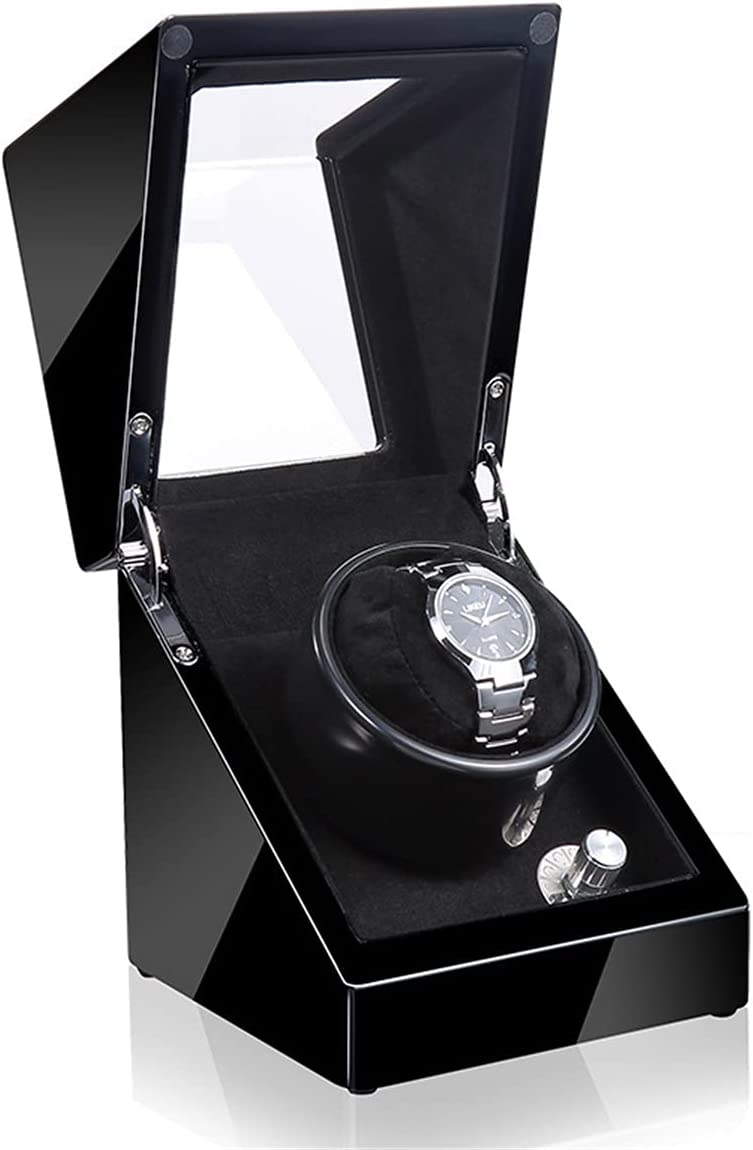 Automatic Single Watch Winder Mechanical Rotating Wind Cheap mail order sales Max 88% OFF and