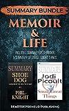 Summary Bundle: Memoir & Life   Readtrepreneur Publishing: Includes Summary of Shoe Dog & Summary of Small Great Things