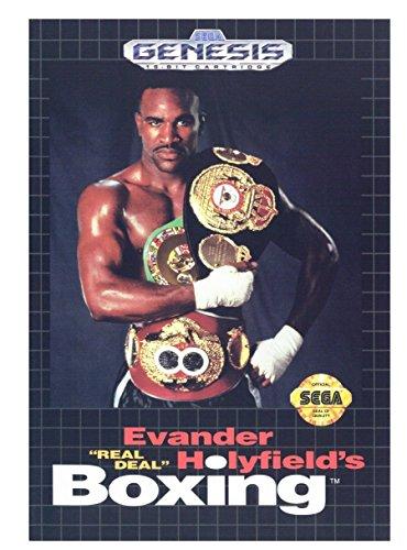Evander Holyfield's Real Deal Boxing - Sega Genesis