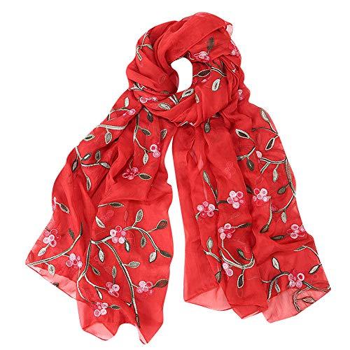 AIni Bufanda De Seda De ImitacióN Ligera De Invierno Para Mujer Mujer Cuello Bufanda Chal Elegante Mujer Regalo (MúLtiples Colores) 170-65 Cm