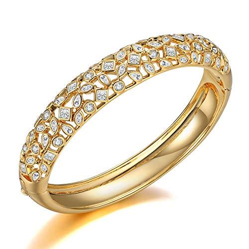 Italina Bangle voor Damesmode Armband Sieraden Eeuwigheid Armband Trouwring voor Dames Meiden Verjaardag Verjaardagscadeau