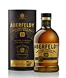 Aberfeldy 18 Years Old Highland Single Malt Scotch Whisky Red Wine Cask Finish 43% - 700 ml in Giftbox