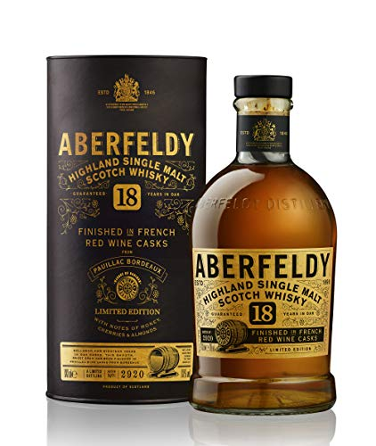 Aberfeldy Pauillac Wine Cask Limited Edition Single Malt Whisky (1 x 0.7l)