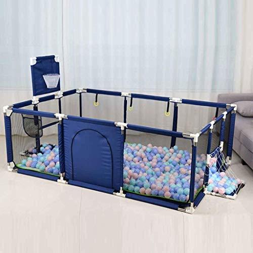 Hogar Decorativo grande Corralito para bebés Valla para niños pequeños Barrera divisoria de habitación portátil plegable Barrera de seguridad expandible para bebés Bloqueo para niños pequeños para