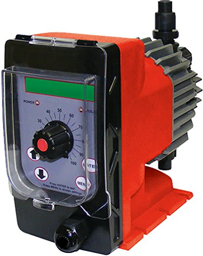 ADVANTAGE CONTROLS; MICROTRON CHEMICAL METERING PUMP, Backlit LCD with Adjustable Stroke & Speed, A115T1-KFC1-P