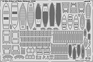 Eduard 1:350 Prince of Wales lifeboats PE Detail Set for Tamiya #53092