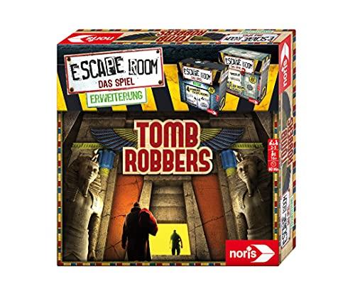 noris 606101964 - Escape Room Erweiterung Tomb Robbers - Familien und Gesellschaftsspiel für Erwachsene - Nur mit dem Chrono Decoder spielbar - ab 16 Jahren